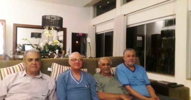 Da esquerda para direita, Daniel,Nicanor,Alcino e João