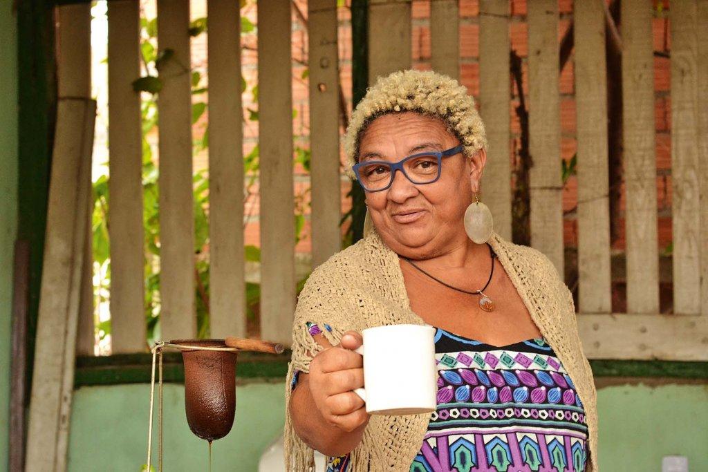Dona Jacira, creditos Demátrio dos Santos